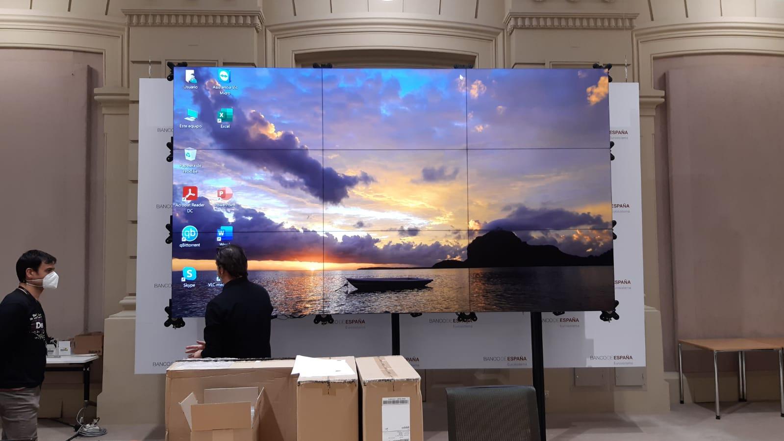 instalacion-VIDEOWALLnueve-monitores
